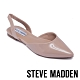 STEVE MADDEN-FREY 簡約低調 後跟帶包趾平底涼鞋-鏡粉 product thumbnail 1