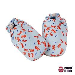 英國 POCONIDO 純手工柔軟嬰兒鞋 (小金魚)