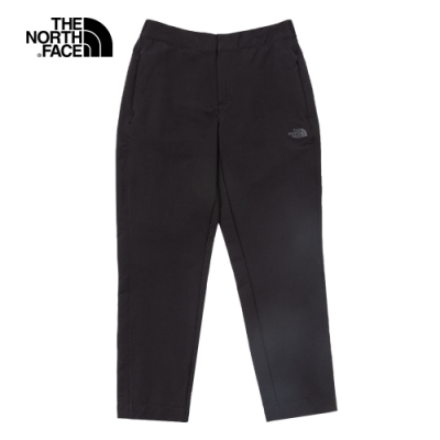 The North Face北面女款黑色防潑水休閒褲|4U8LJK3