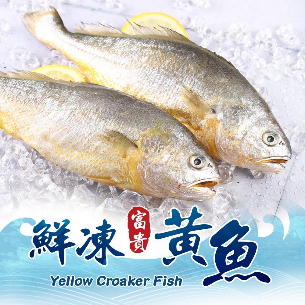 【愛上海鮮】鮮嫩富貴黃魚8包(220g±10%/包)