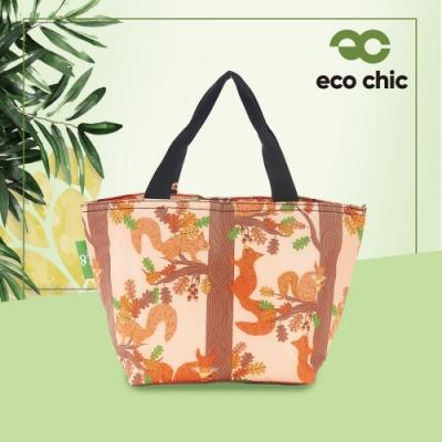 【英國ECO】時尚保冷袋-松鼠(100%再生環保纖維布料)(快)