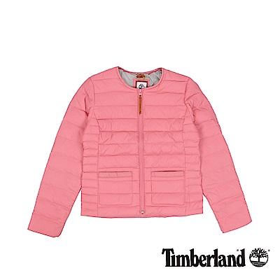Timberland 女款裸粉色AF Mt Kelsey輕量羽絨外套