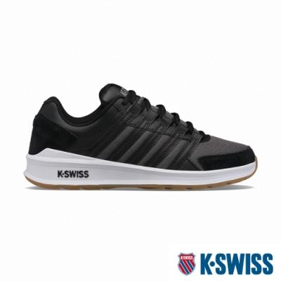 K-SWISS Vista Trainer T時尚運動鞋-男-白/黑/灰
