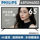 福利品 PHILIPS 飛利浦 65吋4K連網顯示器+視訊卡 65PUH6002