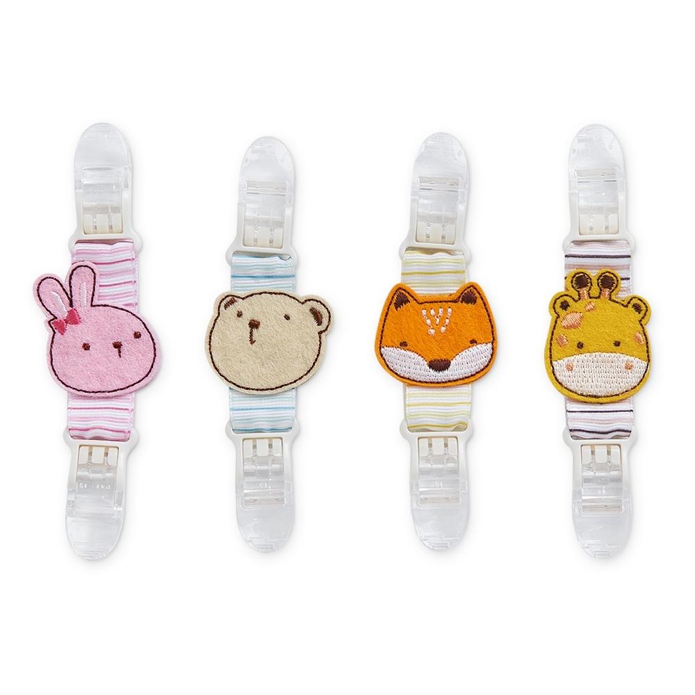 奇哥 可愛動物手帕夾 (4款選擇)