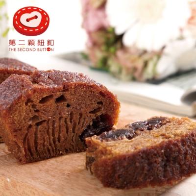 第二顆鈕釦PU‧黑糖麻糬蜂巢蛋糕 (270g/盒,共兩盒)