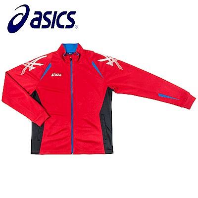 Asics 亞瑟士 男女針織外套 紅黑 K11501-2390