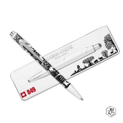 CARAN D ACHE卡達 849系列 PAPER CUT 雕刻藝術剪紙 原子筆限量款