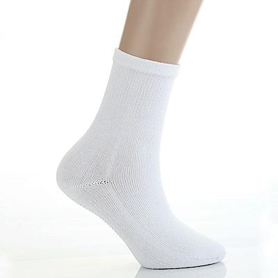 A.S.O 康護系列-極度舒適襪 白