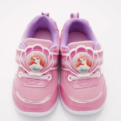 迪士尼童鞋 小美人魚電燈運動鞋款 TH19803粉(中小童段)