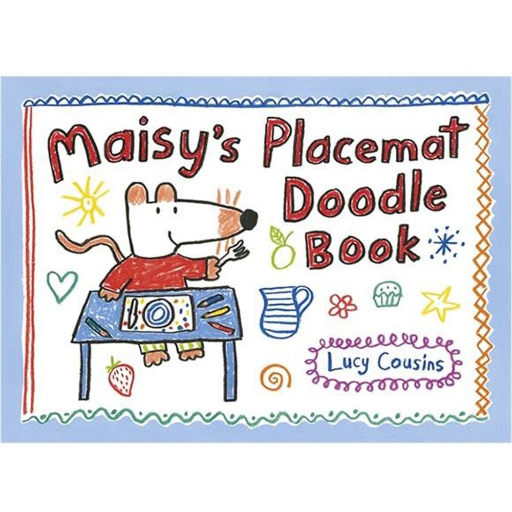 Maisy's Placemat Doodle Book 趣味波波塗鴉書