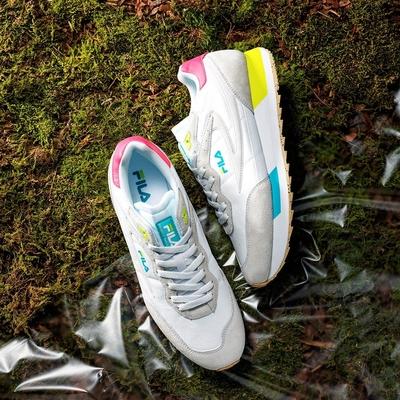 FILA #Back To Nature 復古運動鞋-粉 4-C126V-155