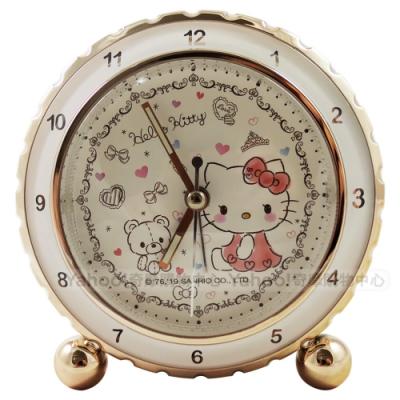 Hello Kitty 浪漫潔白小熊貪睡鬧鐘 JM-E536KT