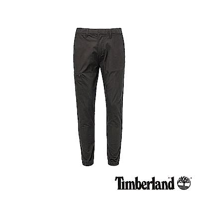 Timberland 男款黑色修身錐形長褲