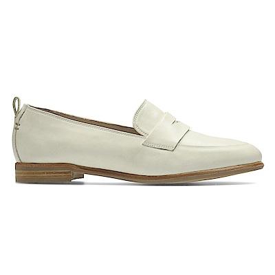Clarks Alania Belle 女 休閒鞋 白
