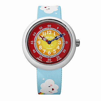 FlikFlak 兒童錶 CLOUDBOW 雲朵彩虹手錶