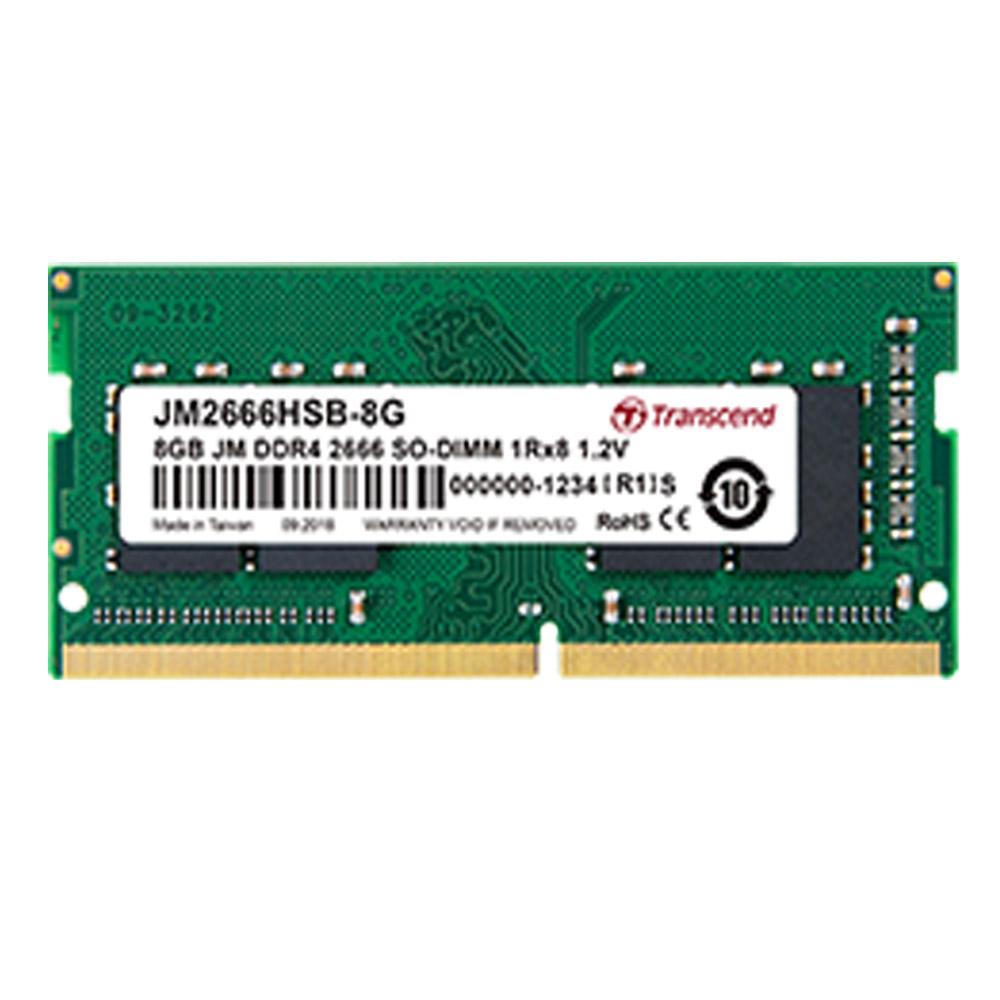 創見JetRam DDR4-2666 8G 筆電記憶體
