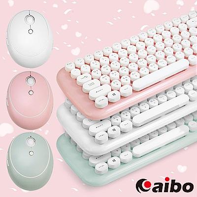 aibo KM12 棉花糖打字機 2.4G無線鍵盤滑鼠組