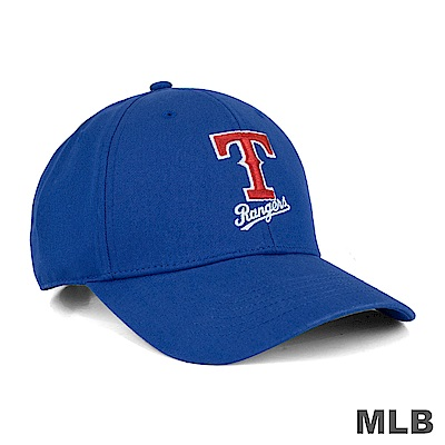 MLB-德州遊騎兵隊可調式復古球帽