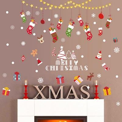 時尚壁貼-耶誕糖果襪HM92044ds
