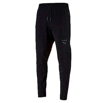 PUMA-男性流行系列Pace EvoKNIT長褲-黑色-歐規