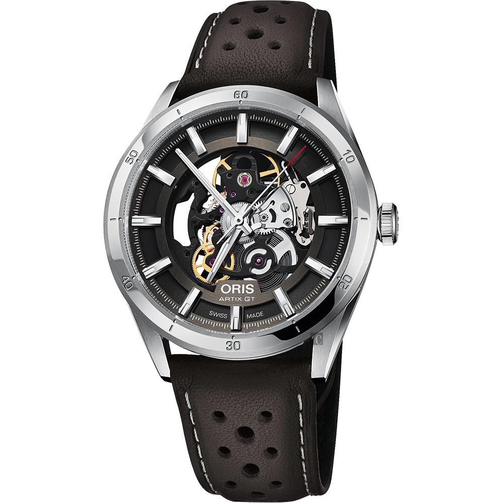 ORIS 豪利時 ARTIX GT 雙鏤空機械錶-灰/42mm