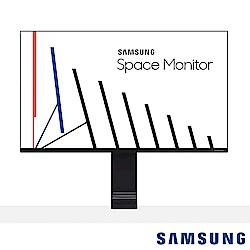 Samsung Space S32R750UEC 32型UHD多段式液晶螢幕