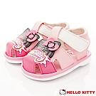 HelloKitty童鞋 凱蒂嗶嗶學步鞋款 EI18104粉(寶寶段)