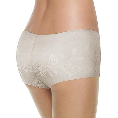 黛安芬-STRETTY小褲 零著感系列平口內褲 M-EEL(淺灰)