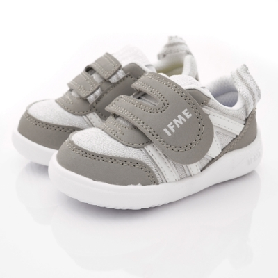 IFME健康機能鞋 輕量學步鞋款 ZE10202銀(寶寶段)