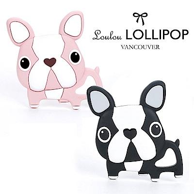 加拿大Loulou lollipop造型鬥牛犬 固齒器/夢幻固齒器(2款可選)