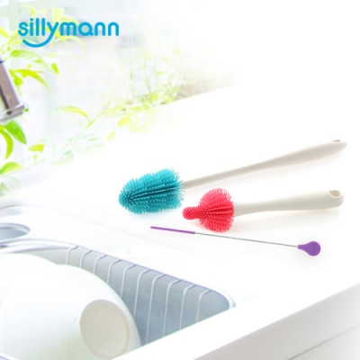 【sillymann】韓國100%鉑金矽膠刷類超值組