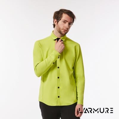 L ARMURE TCool 男裝 螢光彈性襯衫