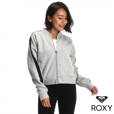 【ROXY】TWIST BLOUSON 防潑水飛行夾克 灰色