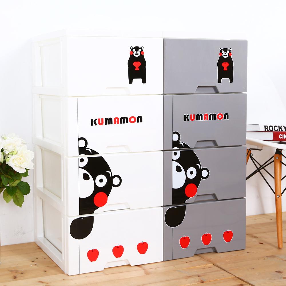 HOUSE 熊本熊KUMAMON四層收納櫃(捉迷藏系列)