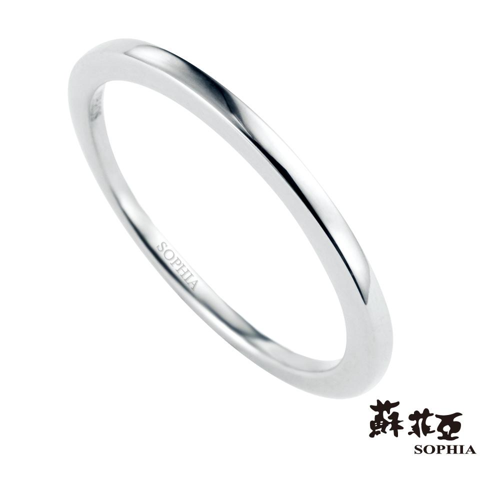 蘇菲亞SOPHIA 戒指 -派翠莎18K美型線戒