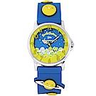gudetama 蛋黃哥可愛立體造型手錶-黃X藍/32mm