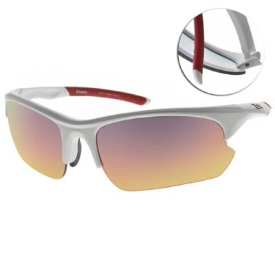 ZIV運動眼鏡 WINNER偏光變色片系列/亮白框 #(TB105018-2)-61