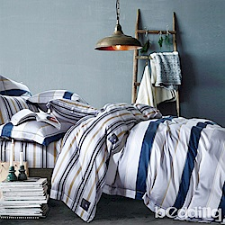 BEDDING-100%天絲萊賽爾-單人薄床包枕套二件組-夏蘭
