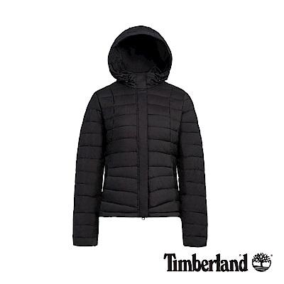 Timberland 女款黑色極輕可收納羽絨外套|B2111