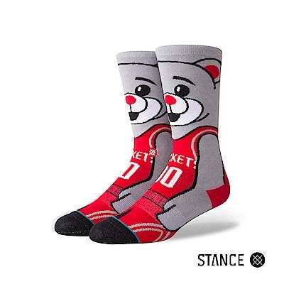 STANCE CLUTCH THE BEAR-男襪-休閒襪-休士頓火箭熊設計款