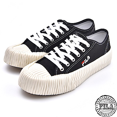 FILA 情侶款 韓版中性餅乾鞋 4 C320T 001