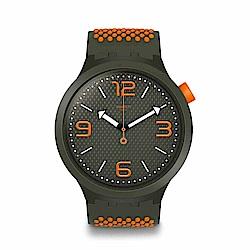 Swatch Big Bold 系列手錶 BBBEAUTY 橘色 -