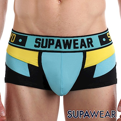 SUPAWEAR Spectrum系列超彈性型男四角內褲(淺藍色)