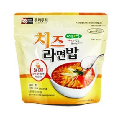 DOORI DOORI泡飯+泡麵 - 起士口味 ( 106g/包 ) x5包