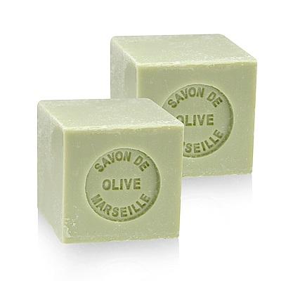 法國 戴奧飛波登 方塊馬賽皂-橄欖油(100g-<b>2</b>入組)