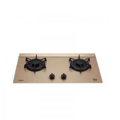 (全省安裝)林內檯面式LOTUS蓮花爐二口爐玻璃天板瓦斯爐天然氣RB-F2610G(K)_NG1