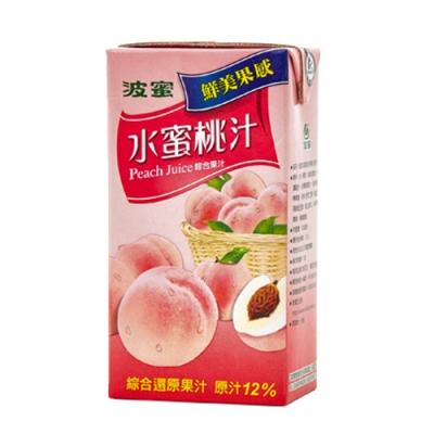 波蜜 水蜜桃汁(300mlx6入)