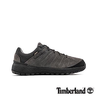 Timberland 男款深灰色正絨面皮革休閒鞋|A1VNH
