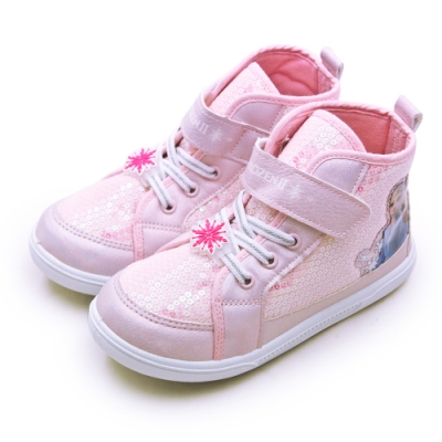 Disney 迪士尼  冰雪奇緣 FROZEN 兒童中筒運動鞋 粉紅 94703
